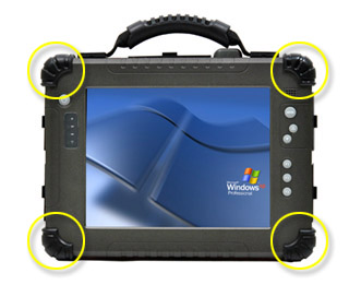 New Version Of 104 Rugged Tablet PC Better Protection